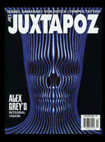 Juxtapoz Cover Art