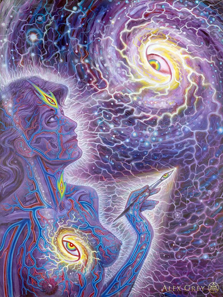 Cosmic Creativity Alex Grey