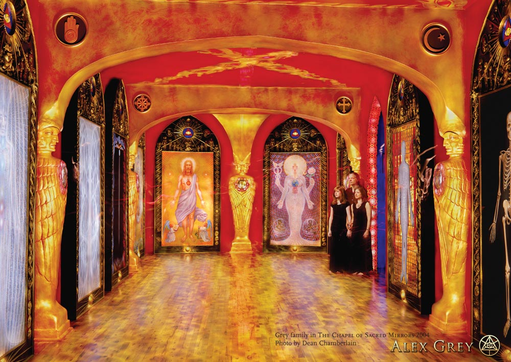 The Greys in the Chapel of Sacred Mirrors, 2004