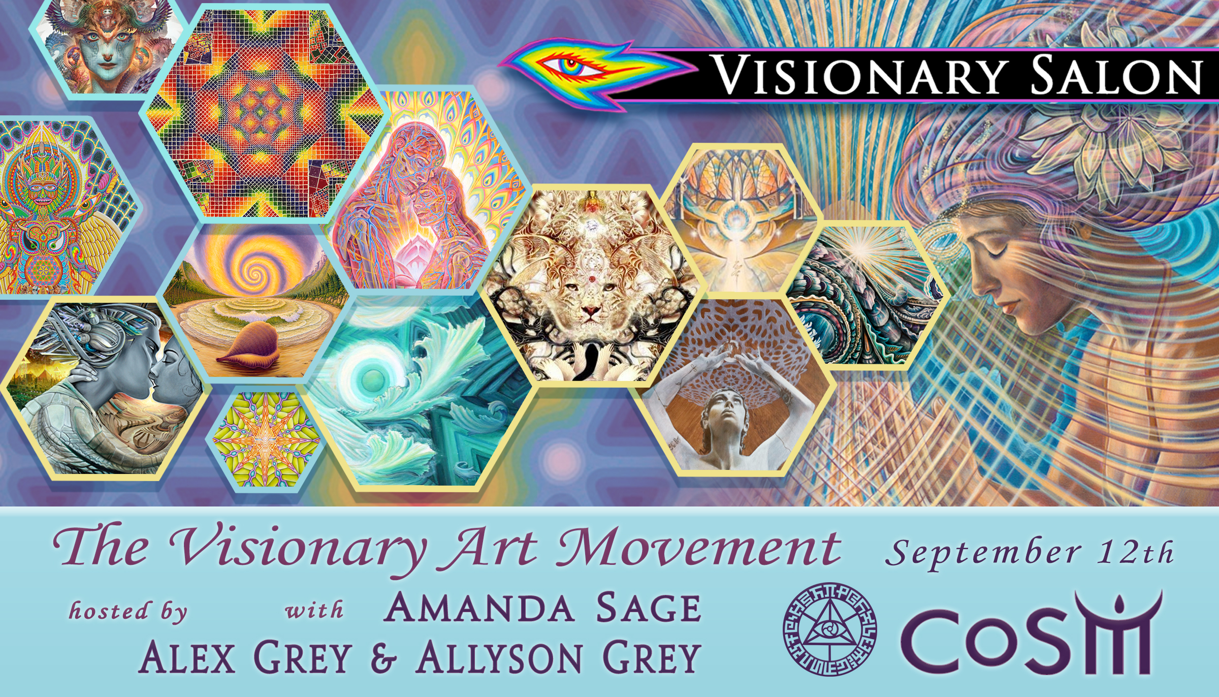 Visionary salon the visionary art movement chapel of for A visionary salon