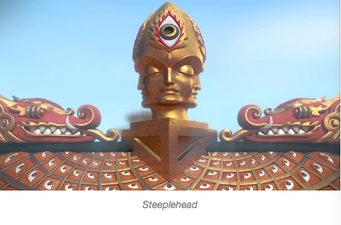 steeple head cosm entheon