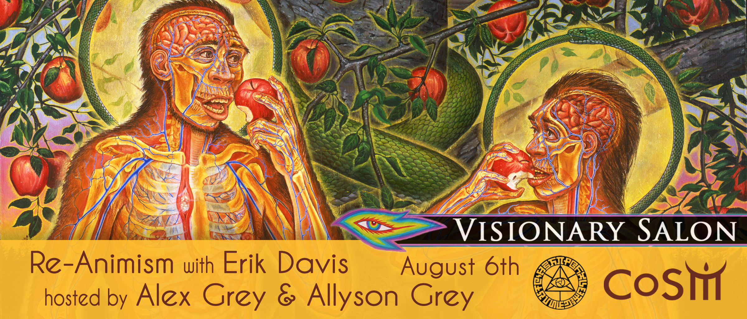 Visionary salon re animism with erik davis chapel of for A visionary salon