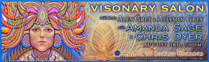 Visionary salon with amanda sage chris dyer chapel of for A visionary salon